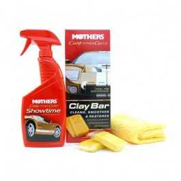 Kit Clay Bar System Mothers 7240