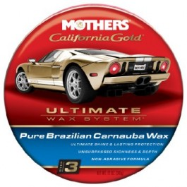 Cera Carnauba Pura California Gold Pure Wax Mothers 340g