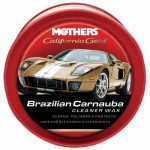 Cera Carnauba California Gold Cleaner Wax Mothers 340g