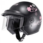 Capacete Moto Preto Three Girls Protork