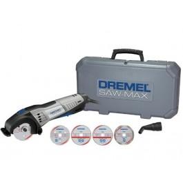 Serra Dremel Saw Max 710w Com 4 Discos E 1 Acoplamento