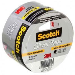 Fita Silver Tape 5 Metros - Scotch 3m