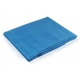 Lona Azul Plástica 4 X 3 Metros Impermeável De Polietileno