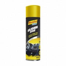 Silicone Spray Mundial Prime 300ml - Carros, Esteiras, Couro