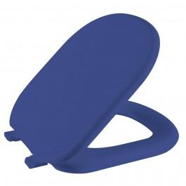 Assento Sanitário Azul Paris/Sabatini Almofadado TTP/K-AZ-11 Astra