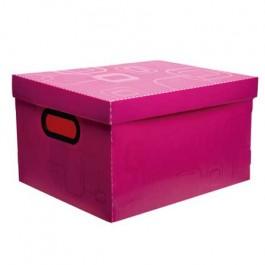 Caixa Organizadora Pequena Rosa Dello