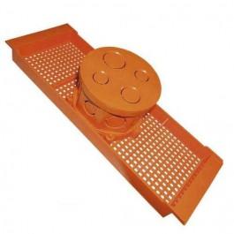 Caixa de Luz Suporte Laje 30cm Krona com 10 peças