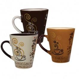 Caneca Ceramica 310ml Moinho Yangz - 12 Unidades