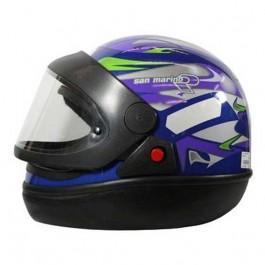 Capacete Moto Azul San Marino Taurus