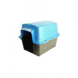 Casinha Cachorro Plástica N.3 Azul
