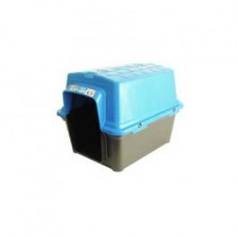 Casinha Cachorro Plástica N.1 Azul