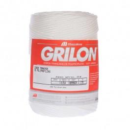 Corda Seda Grilon Branca Trançada 2,0mm 1kg