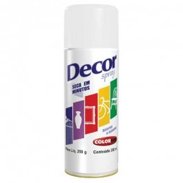 Tinta Spray Branco Fosco Colorgin