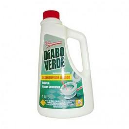 Desentupidor para Vaso Sanitário Diabo Verde Líquido 1lt