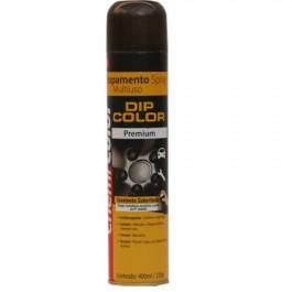 Envelopamento Liquido Tinta Spray DIP COLOR 400ML Metalizado Grafite