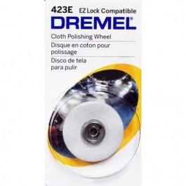 Disco De Pano Para Polir Dremel 423e Ez Lock