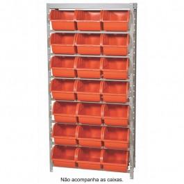 Estante Para Caixa Box 7 21 Divisórias 150 X 71 Marcon