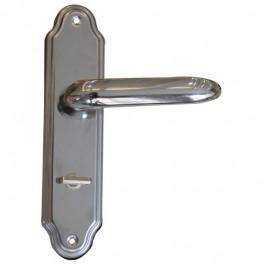 Fechadura Banheiro 40mm Alavanca Inox 82311 Stam