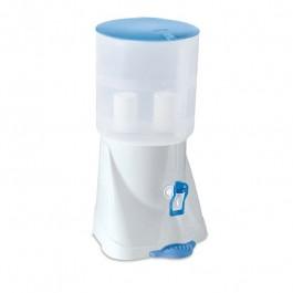 Filtro De Água Plástico Com Cuba Branca E Azul 11 Litros