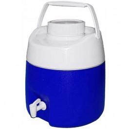 Garrafa Termica com Torneira 4 Litros Obba Azul