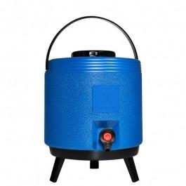 Garrafa Térmica 8 Litros com Torneira Termolar Maxitermo Azul