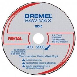 Dremel Disco Saw-Max SM510 Metal 3un