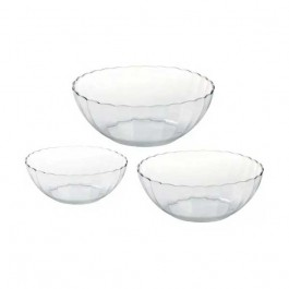 Kit 3 Tigelas Bowl Bella 1, 2 E 3 Litros Marinex 317 Bella