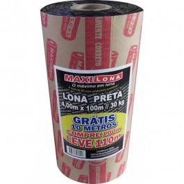 Lona Preta Maxilona 4 X 100 R100 30 Kg