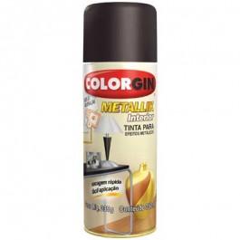 Tinta Spray Metálica Metallik Bronze Colorgin