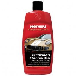 Cera Carnauba California Gold Cleaner Wax Líquida Mothers 473ml