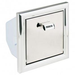 Papeleira Para Banheiro De Embutir 17X18Cm Lb2 Alumínio Astra
