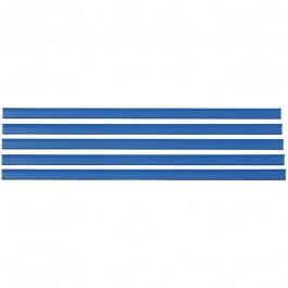 Porta Etiqueta Gôndola Azul Sa Com 5 Unidades