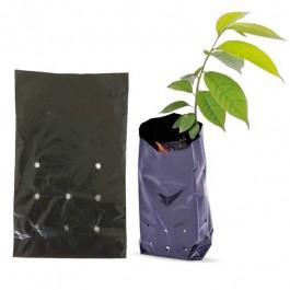Saco Para Mudas De Plástico Preto 10 X 20 Cm Com 1000 Unidades