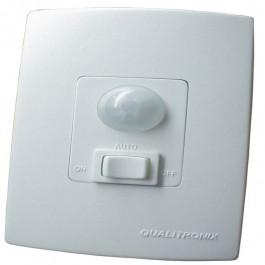 Sensor De Presença Embutir Com Chave Bivolt Qualitronix