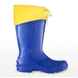 Bota Sete Léguas Capataz Naútica Azul E Amarelo