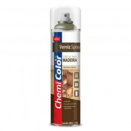Verniz Spray para Madeira Mogno Chemicolor 400ml