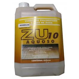 Verniz ZU-10 Aquoso Poliuretano Semi Brilho 5kg