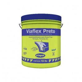 Impermeabilizante para Lajes Viaflex 18kg Preto