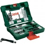 Kit Bosch De Brocas, Bits, Parafusadeira Manual V-line 41 Pc