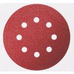 Disco Lixa de Velcro 125mm 8 furos Grão 100 Bosch 3