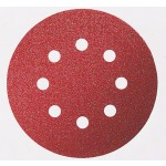 Disco Lixa de Velcro 125mm 8 furos Grão 60 Bosch 3