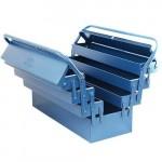 Caixa De Ferramentas Sanfonada 7 Compartimentos Metal Fercar