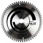 Disco De Serra Corta Alumínio 7.1/4 184mm 60 Dentes Bosch