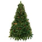 Árvore de Natal Decorada Alpina com 180cm com Pés de Ferro