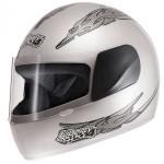 Capacete Moto Prata Liberty Four Protork