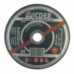 Disco De Corte 7 X 1/8 Pol A36qb32 Icder Com 10 Unidades
