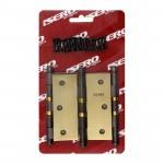 Dobradiça para Porta com Anel Colonial 3.1/2 x 3 até 27kg Isero c/ 3 Peças