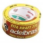 Fita Empacotamento 48x50 Kraft Aldebrás
