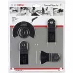 Kit De Corte E Remoção Para Multicortadora Bosch C/ 4 Peças