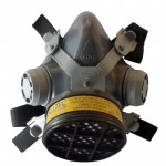 Máscara Para Pintura Carvão Ativado Com Filtro Vo/ga
